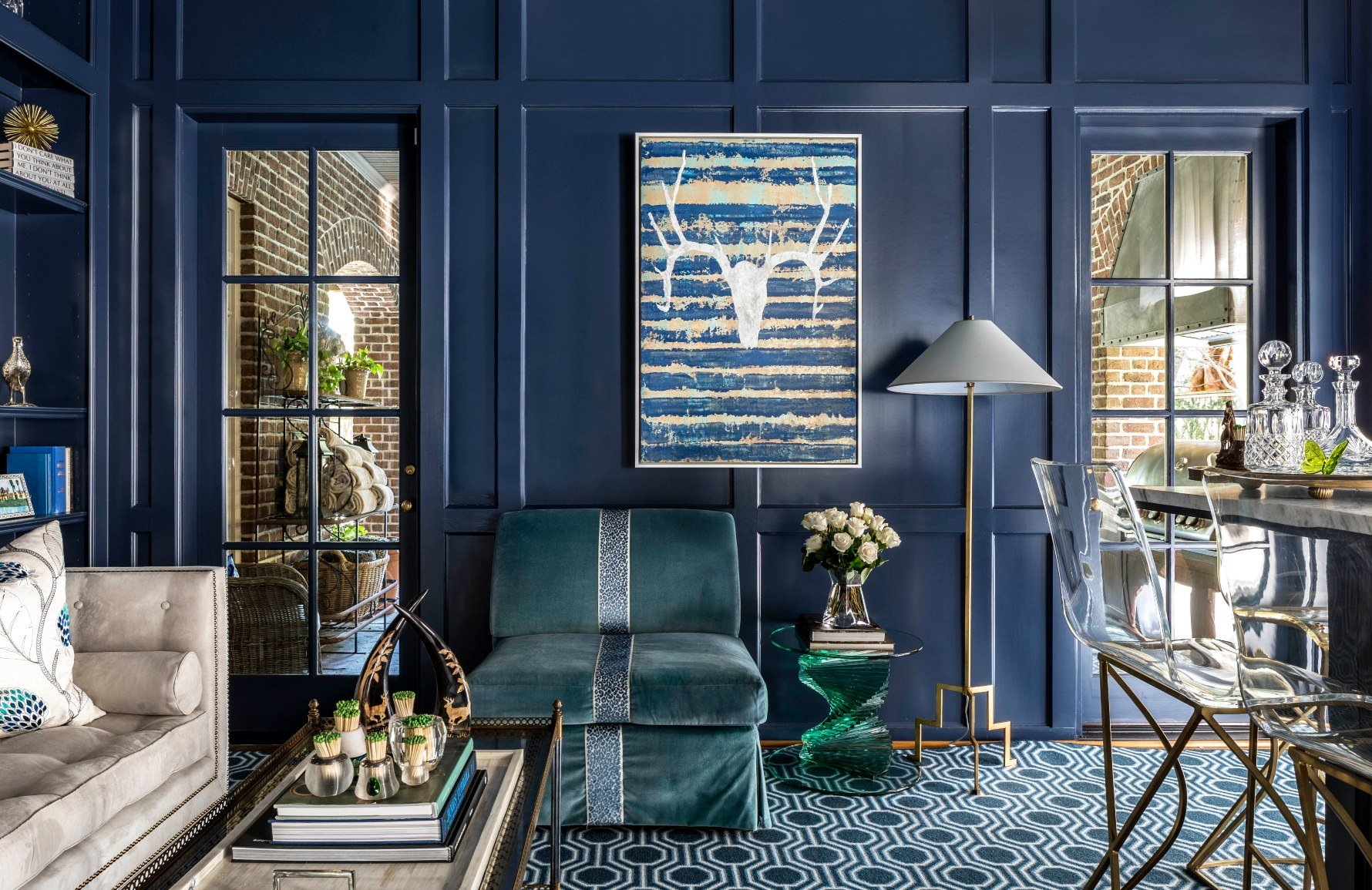 11 Incredible Blue Living Room Colour Scheme Ideas