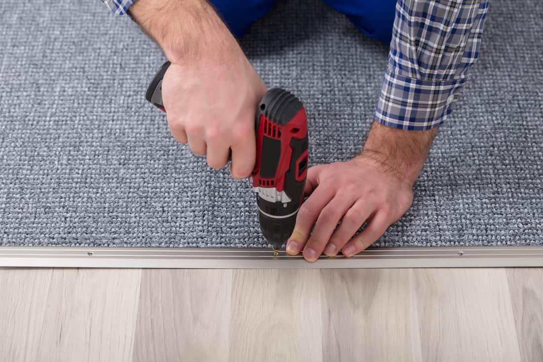 Trim Loose Carpet Fibers
