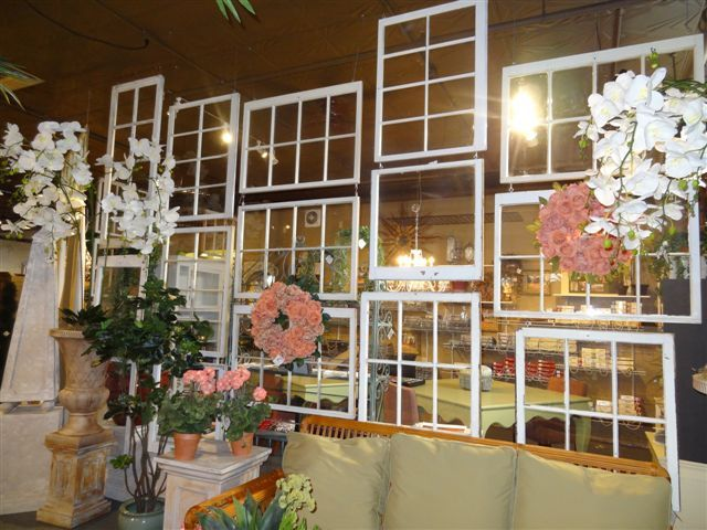 Use Hanging Window as Room Divider